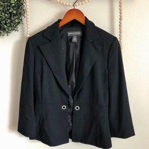 Banana Republic black blazer size 6